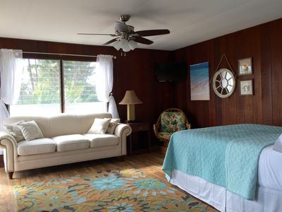 Photo for Classic Beachfront Studio Apartment Right On Charley Young Beach