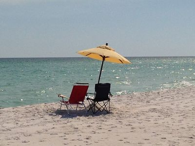 "Photo for Discounted Deal Sept 7-14 $200/night!  ""Island Time"" Gulf Front Townhouse!"