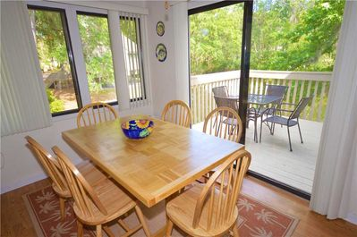 55 Night Heron - Dining Room and Private Patio