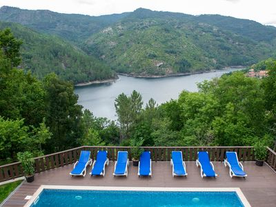 Photo for Gerês Palace T2 with fantastic lake view