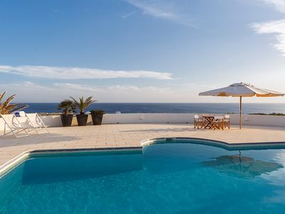 Photo for Spectacular Villa in Binidalí with unbeatable sea views