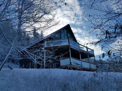 Photo for Chalet w/ Stunning Views Hot Tub Short Walk to Slopes OnCall Shuttle