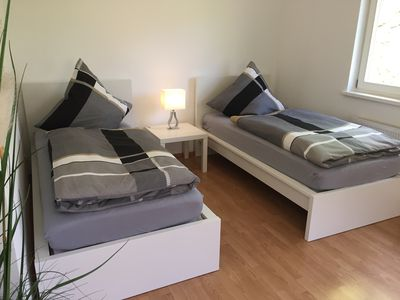 Photo for Dreamlike apartment for 2 pers HH Wandsbek-Marienthal