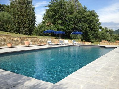 Photo for charming house for 2 persons Tuscany, private 8h / day pool (15mx7m)