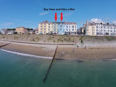 Stunning 4 Storey Victorian Houses Located Directly on the Seafront at Criccieth