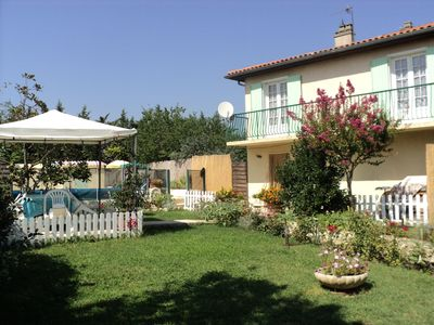 Photo for apartment in villa 13 km from the sea 10km from Montpelier 7km from the A75