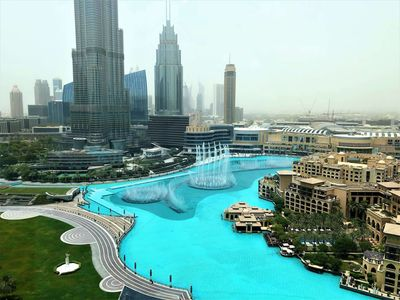 Photo for Ultimate Stay 4BR with full Burj Khalifa & fountain view