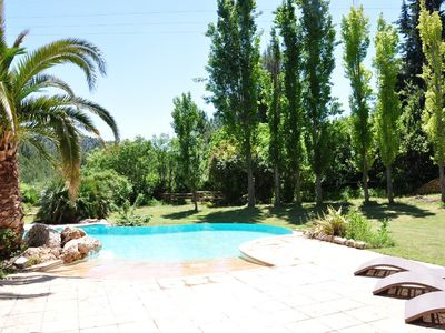 Photo for Magnificent villa in the hills of Pagnol