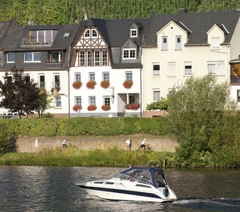 Photo for Delightful Bright Riverside Apartments, Zell Mosel, On Hahn Airport Bus Route