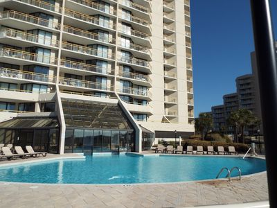 Photo for Beautiful South Tower 2BR/2BA condo With Beach Locker!Large Patio w/Great Views!