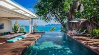 Villa Hin is the best place for vacation, especially the view looking from the swimming pool is