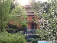 Relaxing, beautiful house and garden with pool in the Lazio countryside, close to Rome