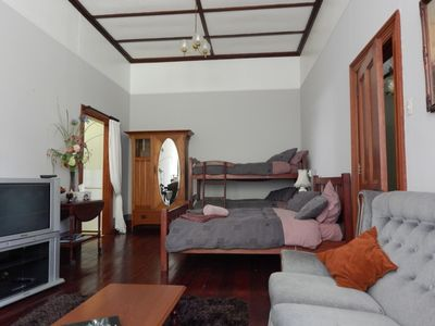 Photo for Beautiful old villa apartment in charming setting.