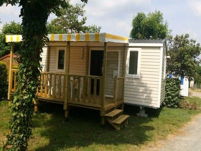 Photo for Camping Both of Orouet *** - Mobile home Super Mercure 4/6 Persons 3 Rooms