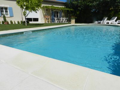Photo for House, quiet and comfort, private pool, air conditioning.