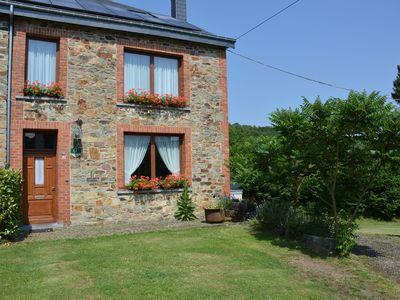 Photo for In a quiet village, well located, simple house with beautiful large terrace