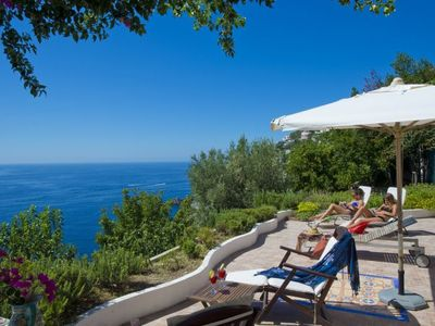 Photo for 2 bedroom Villa, sleeps 6 in Praiano with Air Con and WiFi