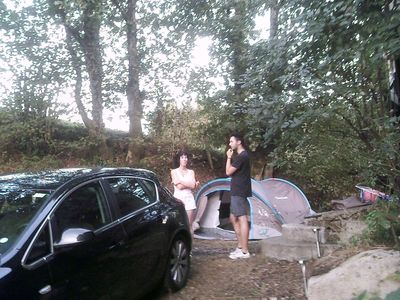 Photo for Camping - in a convenient location in the Parc National Millevaches