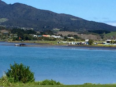 Photo for Raglan Holiday Home - Water and Mountain Views