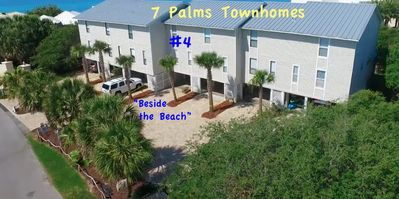 7 Palms - PRIVATE BEACH, NO CROWDS!!  - the BEST VALUE on 30A! See for yourself!