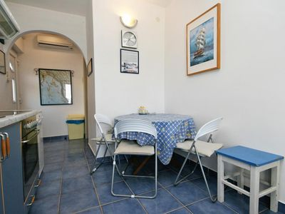 Photo for One bedroom apartment with terrace and sea view Dramalj (Crikvenica)