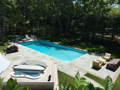 Photo for Private Hamptons Home, Family Friendly, Short Walk to Beautiful Big Fresh Lake