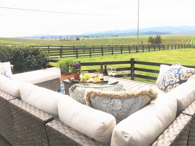 Photo for Sonoma County Modern Farmhouse, Views, Vineyards, Hot Tub & Sonoma Speedway