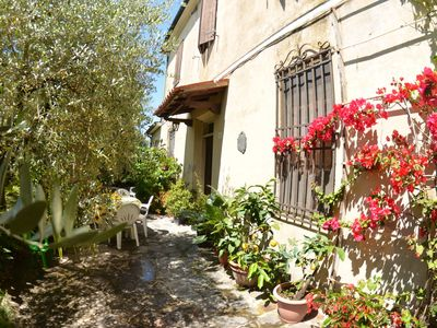 Photo for Beautiful private villa for 8 guests with WIFI, TV, patio and parking