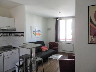 Photo for BIARRITZ HALLES, town center appart. 4 pers 200 m BEACH, WIFi free, garage