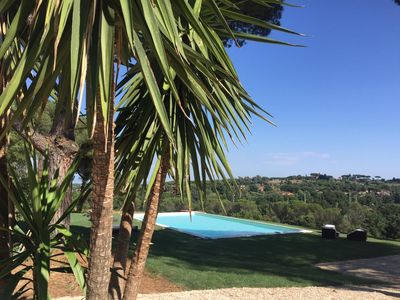 Photo for The Pia Park is an oasis in the green inside the city of Rome - entire villa