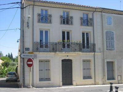 Photo for Regine, Luxury Apartment in Historic Village, 100 Metres from the Canal Du Midi