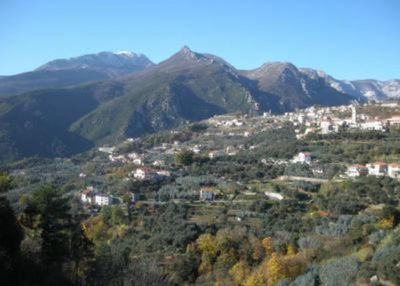 Between the sea and the mountain of Liguria, in the village of Magliolo...