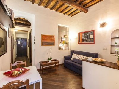 Photo for Characteristic Apartment In The Hearth Of Trastevere