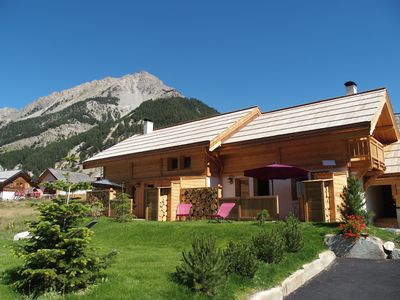 """Photo for Authentic larch chalet of 2016, the """"Bellety"""" invites you to serenity in"""