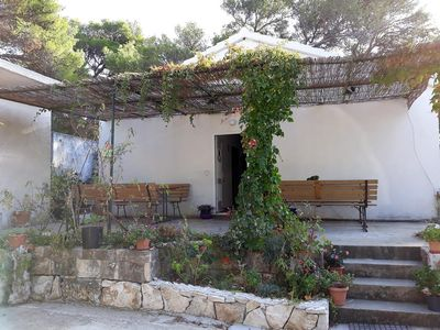 Photo for Two bedroom apartment with terrace Cove Blaca (Mljet)