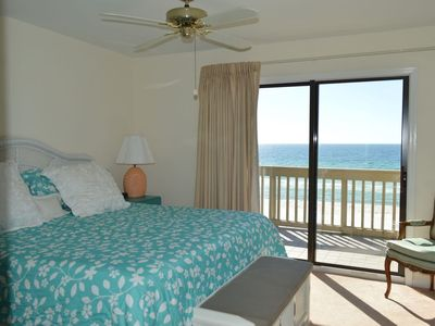 Photo for Gulf Front Townhome with balconies off Living Room and Master Bedroom!