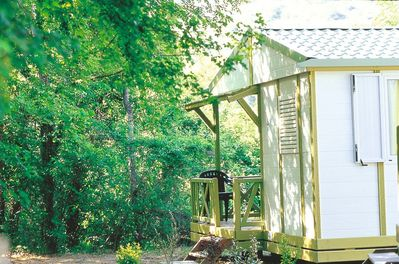 You'll love getting close to nature in our mobile home.