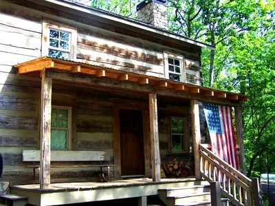 Photo for Mid-1800s Restored Log Cabin: Stay 3 Nights This Fall, Get A 4th Night Free!