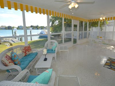 Great Waterfront Home on Indian Rocks Beach!