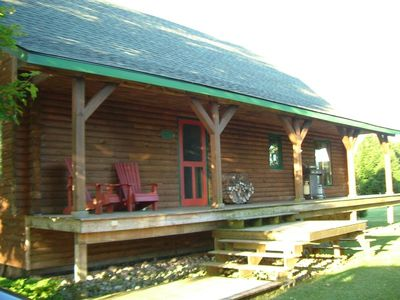 Photo for Beautiful Lakefront Log Home - Sleeps 8