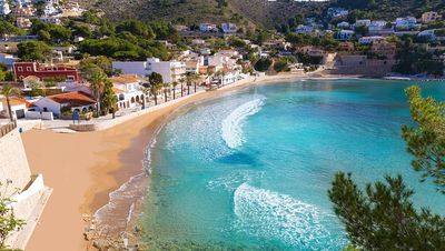 Photo for Moraira center, 1 bedroom apartment, 4 people, wifi+SAT