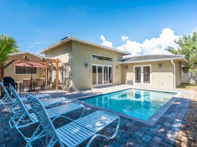 Photo for Walk to Beach-Heated Pool-3/2 for 10 Guests Pool