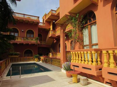 Photo for Comfortable apartment in Cartagena w/ pool