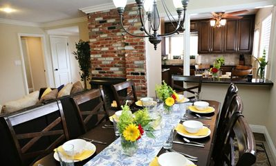 3 view - Dining Room, Kitchen, and family room