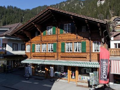 Photo for One bedroom Apartment, sleeps 2 in Adelboden with WiFi