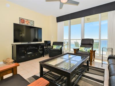 Photo for Gulf-Front Condo: Stunning Views! FREE Seasonal Beach Service! TWO KING BEDS!👓