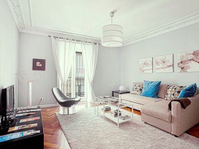 Photo for Design apartment in the center of Madrid. 2Bedrooms. Teatro Real III