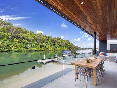 Photo for Architecturally Designed Waterfront Home A Stroll to Hastings St & Main Beach