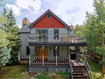 Photo for Walk to Main Street! Modern remodel of Victorian in Historic Downtown Breck!