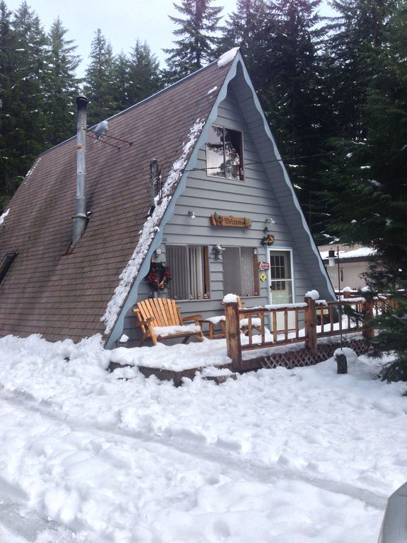 Mignon mount rainier white pass chalet packwood for Cabine vicino a mt ranier